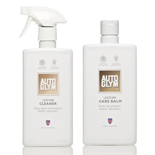 Autoglym Leather Cleaner & Conditioner Complete Care Kit **COMES COMPLETE WITH 2x MICROFIBRE CLEANING TOWELS & 2x APPLICATOR PADS**