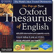 SELECTSOFT USA The Pop-up New Oxford Thesaurus of English WindowsB00007E8CY : image