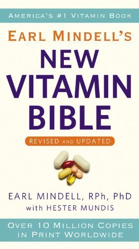 By Earl Mindell Earl Mindell'S New Vitamin Bible (Rev Upd)