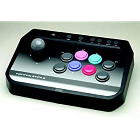 PS3 Fighting Stick, Arcade-style