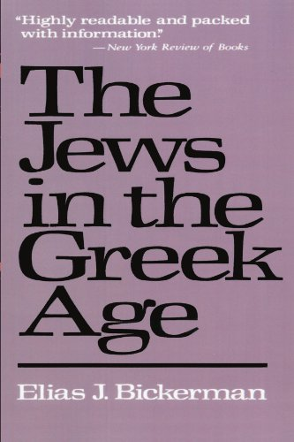The Jews in the Greek Age