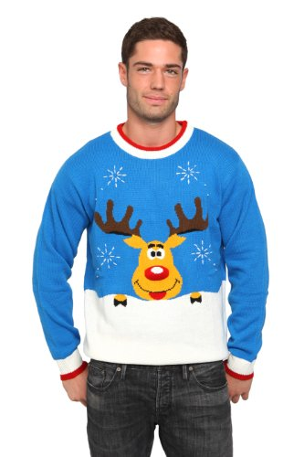 The costumeshop Rudolph Sweater, size L, blue
