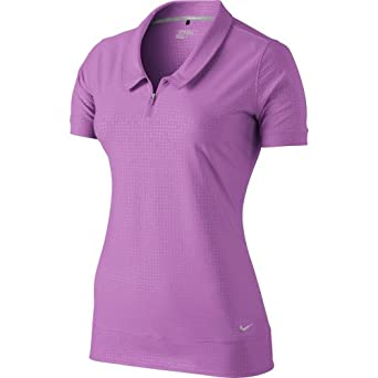 Nike Ladies Novelty Collar Polo by Nike