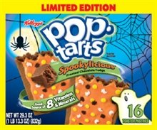 Kellogg's Spookylicious Pop Tarts Limited Editon 16 Count Box