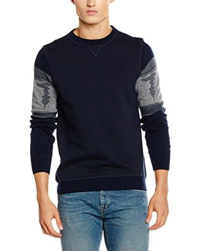 Trussardi Jeans Sudadera Azul Marino