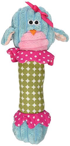 Mud Pie Forest Animal Rattles, Owl