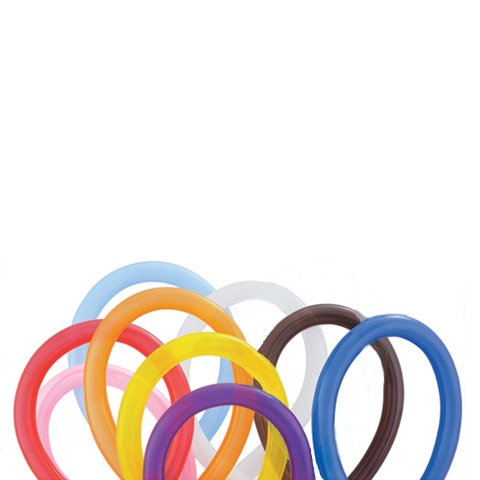 Purchase Qualatex 260Q Balloons - Assorted Color Twisty Balloons - 100 Count