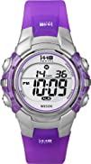 Timex Womens T5K459 1440 Sports Digital SilverTranslucent
