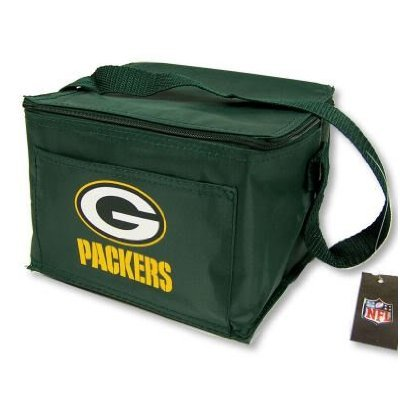 Green Bay Packers Insulated Lunch Tote / 6 Pack Cooler at Amazon.com