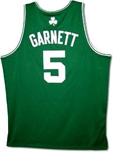 Kevin Garnett Boston Celtics Authentic Road Green NBA Adidas Jersey (Unsigned) by adidas