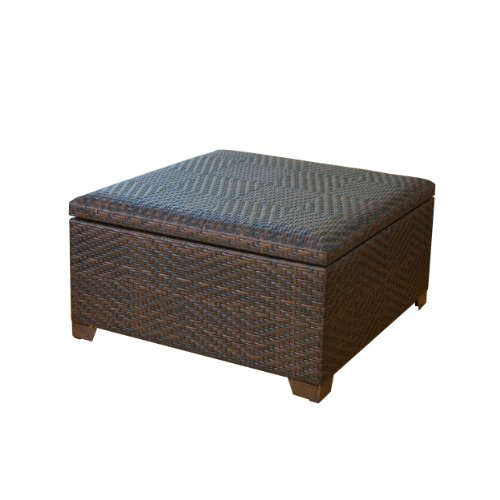 Indoor Storage Benches Great Price Best Wicker Brown Indoor Outdoor Storage Ottoman