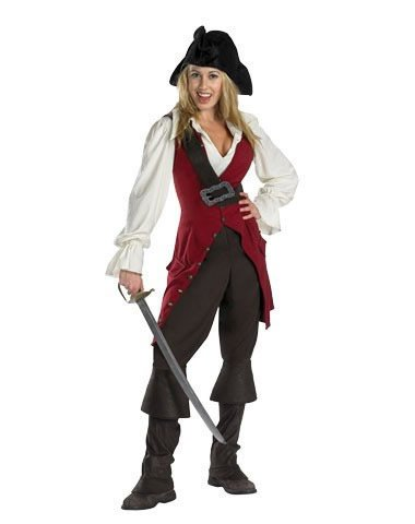 Disguise Inc Women's Pirates Of The Caribbean Elizabeth Costume
