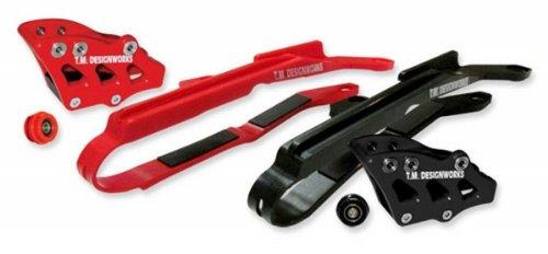 T.M. Designworks Baja-Rally Chain Slide-N-Guide Kit - Black Hcp-H04-Bk