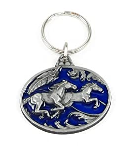 Key Ring - Running Horses