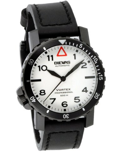 DIEVAS-Vortex-Professional-Tactical-Dive-Watch-with-Black-PVD-Case-and-White-Fully-Luminous-Dial
