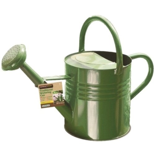 GARDMAN TRADITIONAL WATERING CAN 2 GALLONS/9 L GARDEN