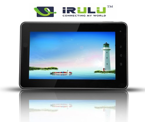 iRulu (TM) 7″ Android 4.0 OS Cortex A10 5 Point Capacitive Touchscreen Tablet PC Google 3G WiFi MID, Support G-sensor HDMI 1080P 4GB NandFlash