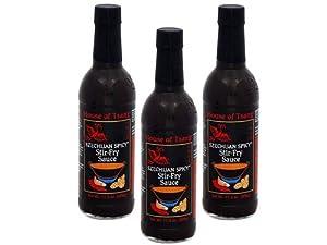 House of Tsang Szechuan Spicy Sauce 11.5oz Bottles, Pack of 3