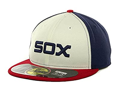 New Era 59FIFTY Chicago White Sox Team Alternate Baseball Hat White/Navy/Red