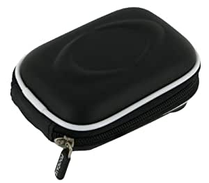 rooCASE EVA Hard Shell (Black) Carrying Case with Memory Foam for Kodak PLAYSPORT Zx5 Video Camera HD Camcorder