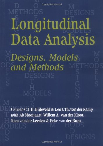 Longitudinal Data Analysis: Designs, Models And Methods