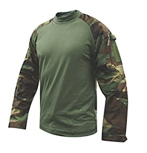 Tru-Spec Combat Tru Shirt W/P Nyco Rip Stop, 2XLarge, Regular 2560007