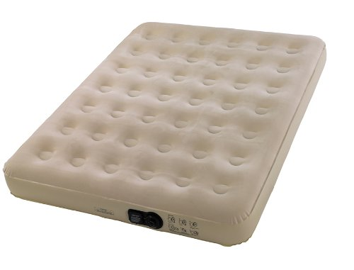 Wenzel Stow-n-go Twin Size Air Bed - Color Tan