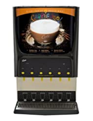 Wilbur Curtis PCGT6300 G3 Cappuccino and Multi-Flavor Systems with Lift Door, 6-Station, Two 3-lb, Three 5-lb... at Sears.com
