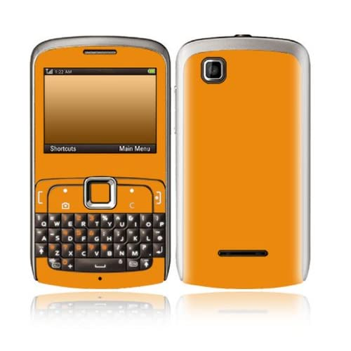 Simply Orange Design Decorative Skin Cover Decal Sticker for Motorola EX115 Cell Phone