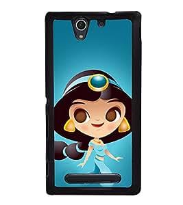 Princess 2D Hard Polycarbonate Designer Back Case Cover for Sony Xperia C4 Dual :: Sony Xperia C4 Dual E5333 E5343 E5363