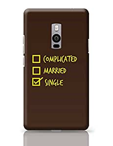 PosterGuy OnePlus Two Case Cover - Single with brown background | Designed by: Codeburnerz Technologies