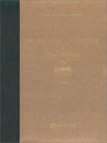 Atlas linguistique et ethnographique de la France, corse. Carte phonétiques, carte traitées