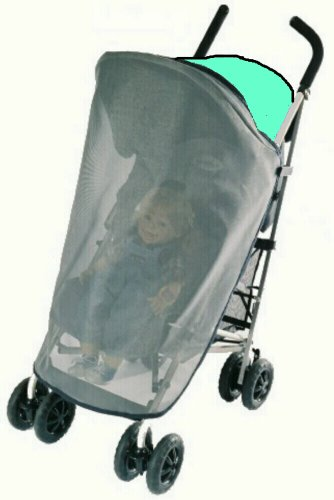 Sashas Sun, Wind and Insect Cover for Icoo Turbo Umbrella Single Stroller