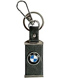Parrk BWM Car Logo Leather Locking Key Chain