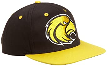 NCAA Southern Mississippi Golden Eagles Secondary Logo College Snap Back Team Hat, Black, One Size
