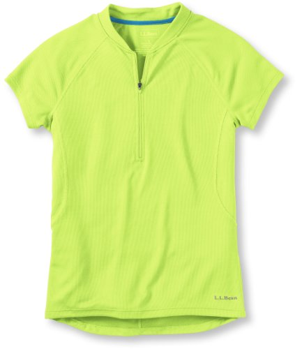Image of L.L.Bean Comfort Cycling Jersey Short Sleeve Women's (B002N31D76)