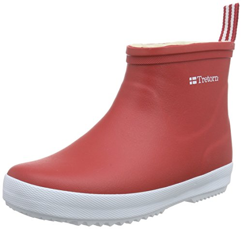 TretornWings Winter Low - Stivaletti in gomma, imbottitura pesante  Unisex - Adulto , Rosso (Rot (Red 050)), 40
