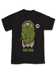 Alien 'Free Hugs' Geek T-Shirt
