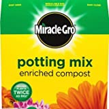 **BULK PACK** Miracle Gro Potting Mix 80L (10 x 8L) **HIGH QUALITY ENRICHED COMPOST**
