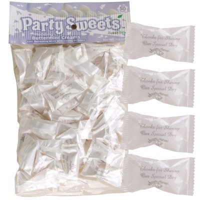 Hospitality Mints 154768 Wedding Party Mints- 7 oz.