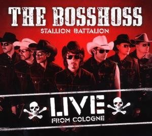 The BossHoss - Stallion Battalion Live (Limited DeLuxe Edition) - Zortam Music