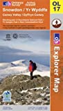 Ordnance Survey Snowdon & Conwy Valley OS Explorer Map OL17