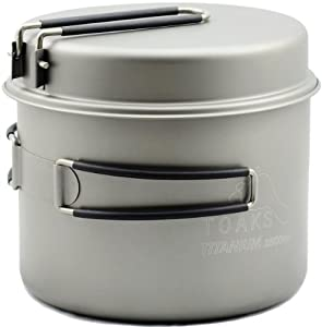 TOAKS Titanium 1600ml Pot with Pan by TOAKS