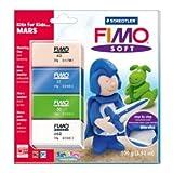 Staedtler Fimo Soft Set Kits For Kids - Mars