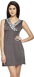 Texco Garments Women's A-Line Dress (7, Grey, XL)