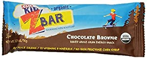 CLIF KID ZBAR - Organic Energy Bar - Chocolate Brownie - (1.27 oz, 18 Count)
