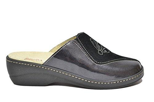 Cinzia Soft Ciabatte scarpe donna nero PLANTARE ESTRAIBILE IAEH33-CP 39