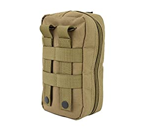 Tactical Baby Gear MOLLE Baby Wipe Pouch 2.0 (Coyote Brown) (Color: Coyote Brown)