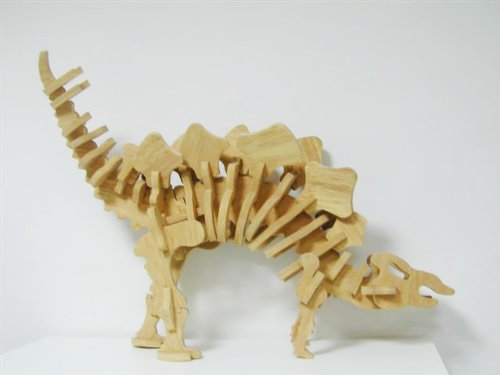 3D Stegosaurus Dinosaur Foam Educational Puzzle