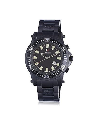 Calibre Men's SC-5H1-13-007 Hawk Date Analog Display Quartz Black Watch